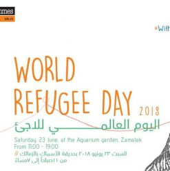 World Refugee Day at the Aquarium Grotto