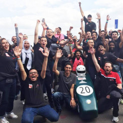 Ain Shams University Team Wins Award in the International Formula Student Competition