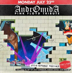 Andromida (Pink Floyd Tribute) @ The Tap West