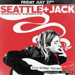 Seattle (Nirvana Tribute Band) + Jack @ The Tap Maadi