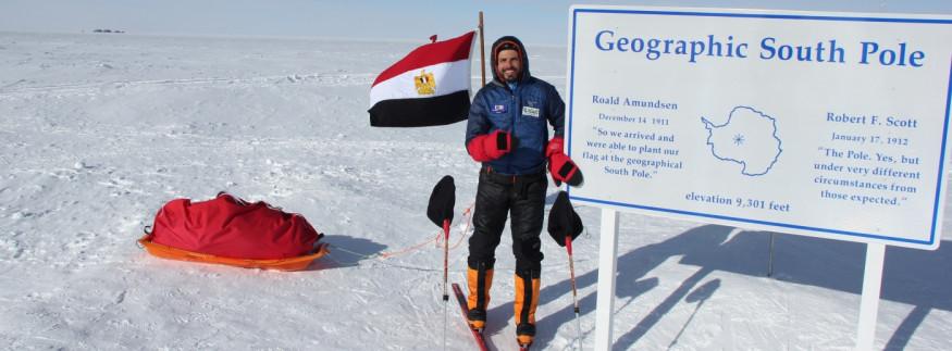 عمر سمرة.. قصة نجاح أول مصري يتسلق قمة إيفرست