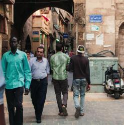 حارة الصالحية: سوق الأحجار الكريمة في القاهرة