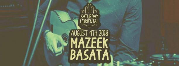 Mazeek / Basata @ Cairo Jazz Club