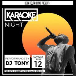 Karaoke Night ft. DJ Tony @ Bella Figura