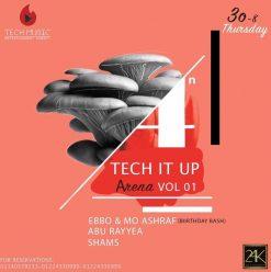 Tech It Up Arena Vol 01 @ 24K