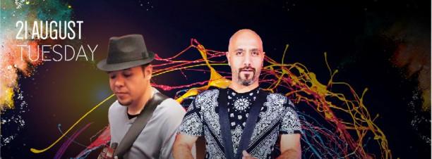Guitarist Sherif + Hamdoon Percussionist @ Stage One, Conrad Cairo Hotel