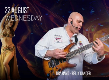 Tiba Band + Belly Dancer @ Stage One, Conrad Cairo Hotel