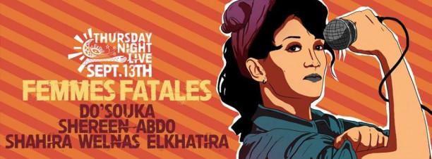 Do'souka / Shereen Abdo / Shahira Wel Nas El Khatira @ Cairo Jazz Club