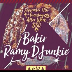 Tuesday After Work BBQ ft. Bakir / Ramy DJunkie @ Cairo Jazz Club 610