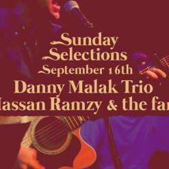 Danny Malak Trio / Hassan Ramzy & The FAM @ Cairo Jazz Club