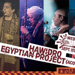 Hawidro / Egyptian Project (Acoustic) @ Cairo Jazz Club 610