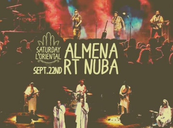 Almena / RT Nuba @ Cairo Jazz Club