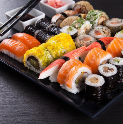 Kyoto Sushi: Competitive Prices at Sheikh Zayed Venue