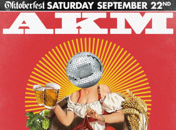 Oktoberfest ft. DJ AKM @ The Tap East