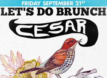 Let's Do Brunch ft. Cesar @ The Tap East