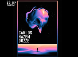 DJ Carlos + Hazem + Dozze @ 24K