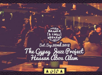 Saturday Brunch ft. The Gypsy Jazz Project / Hassan Abou Alam @ Cairo Jazz Club 610
