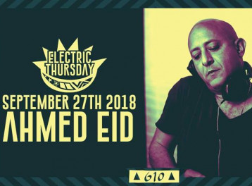 Ahmed Eid @ Cairo Jazz Club 610