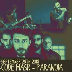 Code Masr / Paranoia (Debut) @ Cairo Jazz Club