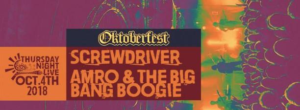 Screwdriver / Amro & The Big Bang Boogie @ Cairo Jazz Club