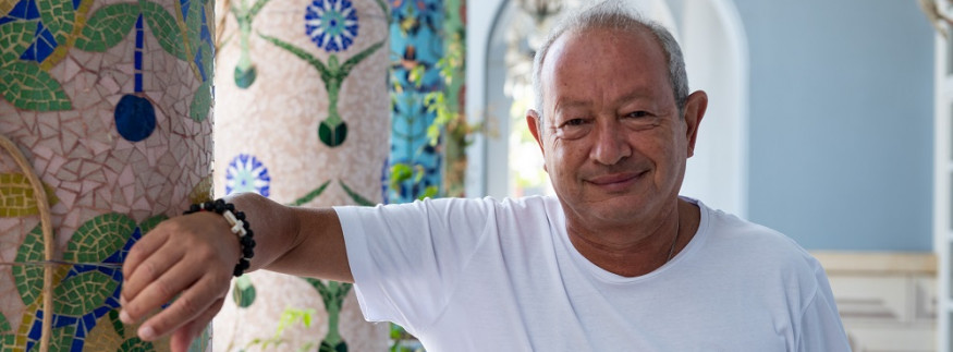 WATCH: Cairo 360's Exclusive Interview With Business Tycoon Naguib Sawiris