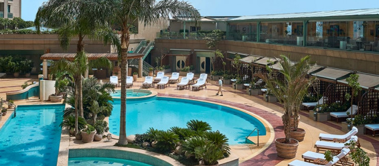 Pool Grill: Mouth-Watering Food & Relaxing Ambience at Four Seasons Nile Plaza