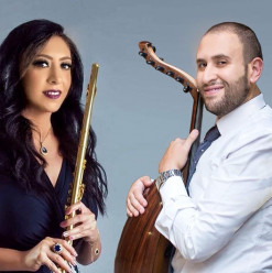 'Flute & Oud Crossing Borders' at Cairo Opera House
