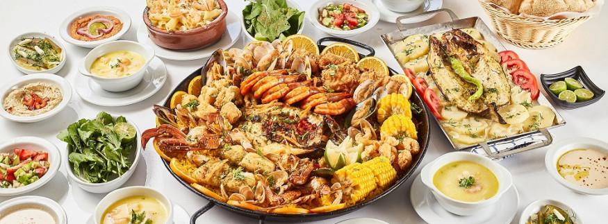 Halaket El Samak: Casseroles Taste Better in Company