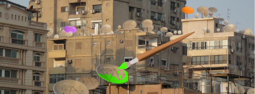 بالصور.. كايرو 360 في رحلة لمعرفة الفنان اللي لون أطباق القاهرة