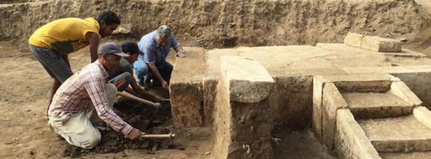 بالصور… اكتشاف مقصورة الملك رمسيس الثاني في حي المطرية