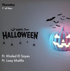 Halloween Party ft. Khaled El Sayes + Loay Khalifa @ OPIA Cairo