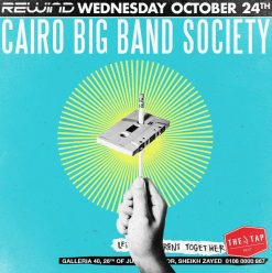 Rewind ft. Cairo Big Band Society @ The Tap West
