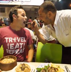 WATCH: International Foodie Is Amazed by Egyptian Street Food