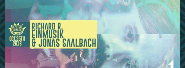 DJ's Einmusik & Jonas Saalbach (Einmusika Recordings) and Richard R @Cairo Jazz Club 610