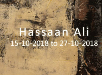 Hassan Ali's Exhibition at Ubuntu Gallery