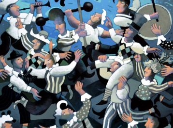 'The Dancing Canavases' Exhibition at Mashrabia Gallery