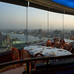 The Revolving Restaurant: A Grand Dining Experience That Celebrates the Beauty of Cairo ‎