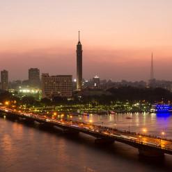 العاصمة أجمل من فوق.. برج القاهرة