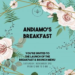 Breakfast & Brunch @ Andiamo's Pizza Garden & Bar