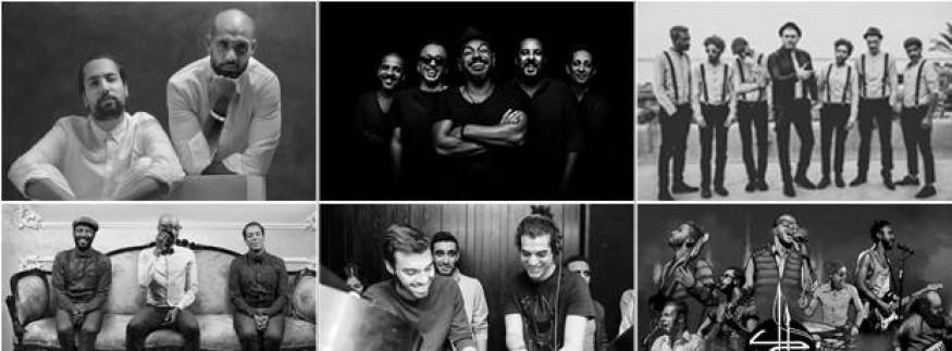 Wust El Balad, Sharmoofers, Massar Egbari, & More at Live in Black & White Concert