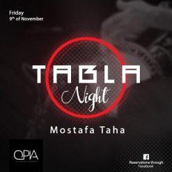 Tabla Night ft. Mostafa Taha @ OPIA Cairo