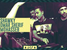SHawky / Omar Sherif / Mohasseb @ Cairo Jazz Club 610