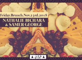 Friday Brunch ft. Nathalie Bichara & Samer George @ Cairo Jazz Club 610
