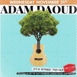 Adam Daoud @ The Tap West