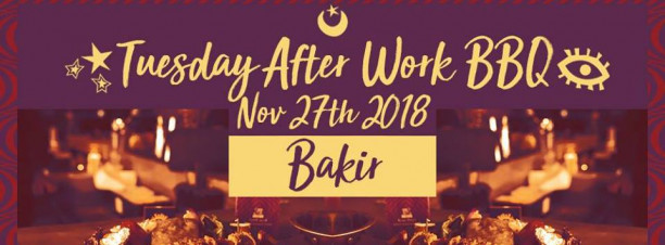 Tuesday After Work BBQ ft. Bakir @ Cairo Jazz Club 610