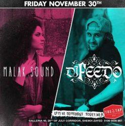 Malak Sound + DJ Feedo @ The Tap West