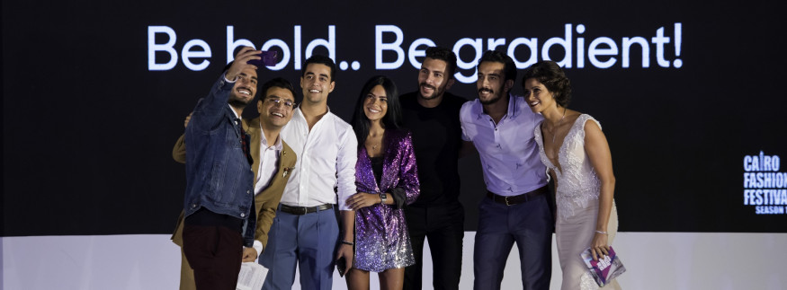Cairo Fashion Festival Witnesses a Starry Purple OPPOCALYPSE