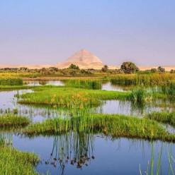 بركة الملك فاروق... مكان جميل لكنه مُهمل في دهشور