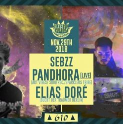 Elias Doré / Pandhora (live) / Sebzz @ Cairo Jazz Club 610