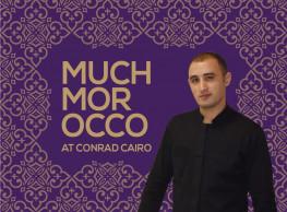 Much Morocco at Conrad Cairo's Oak Grill